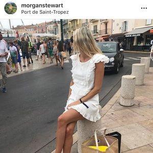 For Love and Lemons white mini dress Small